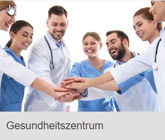 Die Entwicklung des Gesundheitszentrums